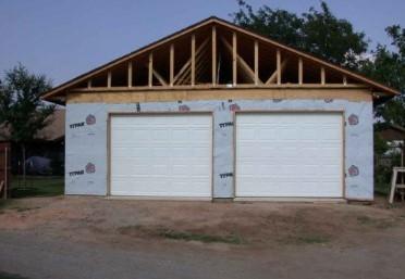 Custom Built Garage in Union County